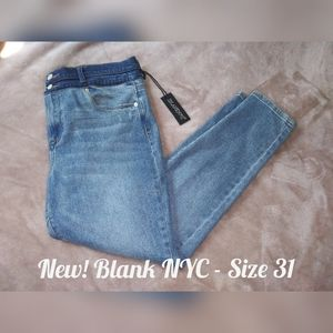 Blank NYC The Great Jones High-Rise Skinny Jeans